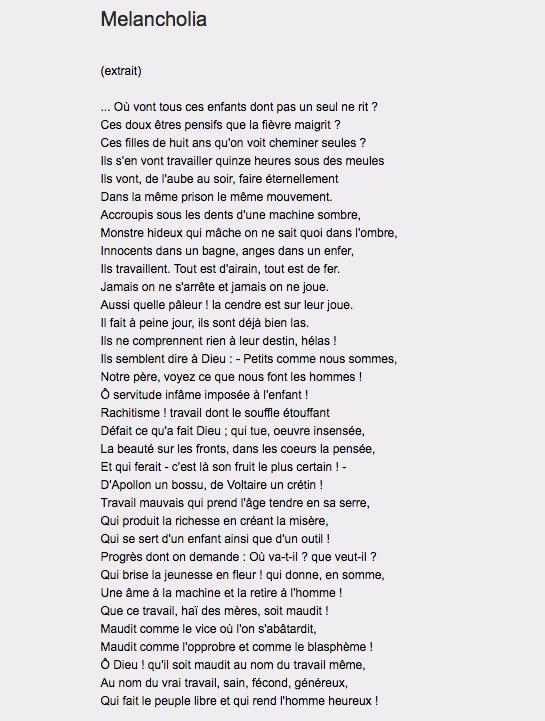 poeme travail