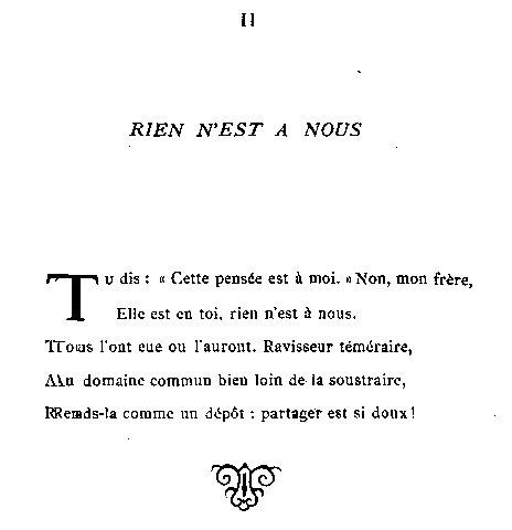 poeme tres court