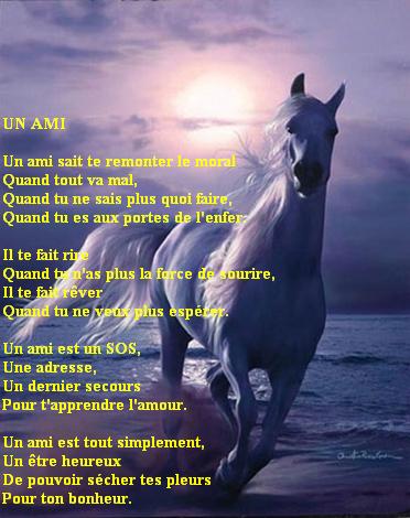 poeme un ami