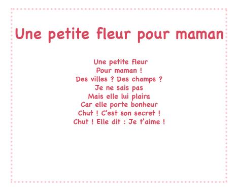 poeme une maman