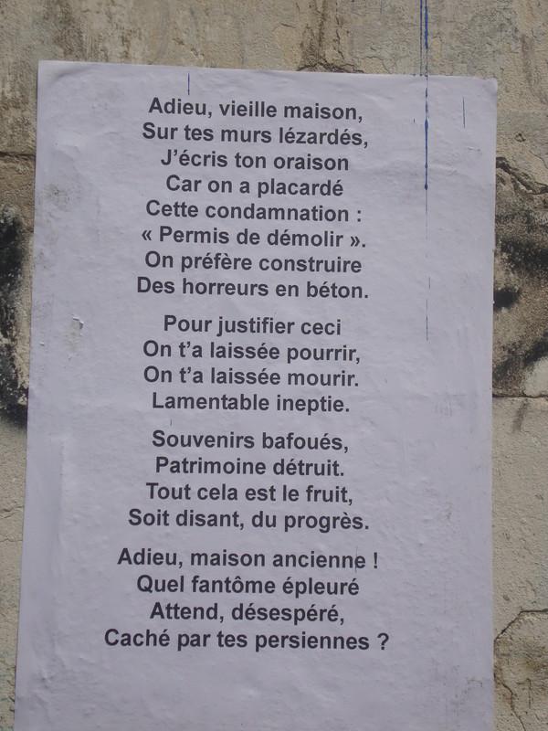 poeme urbain