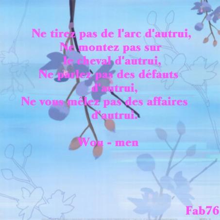 poeme zen gratuit
