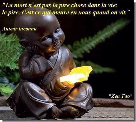 poeme zen sur la mort