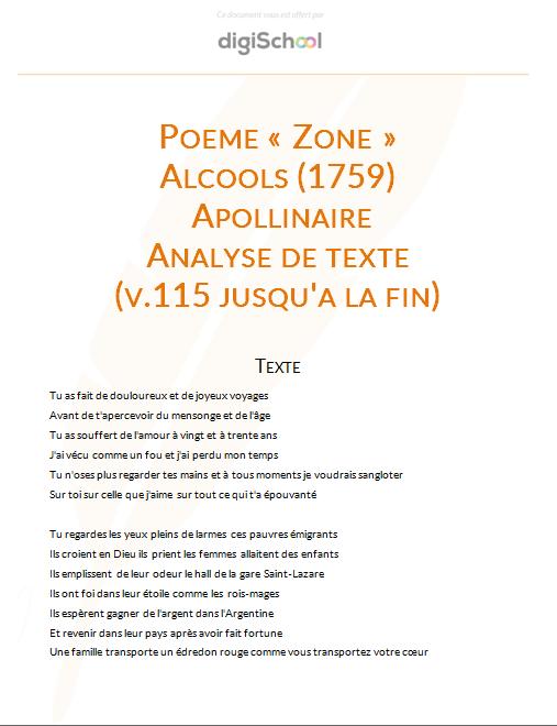 poeme zone libre