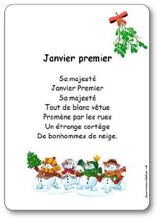 poesie 1er janvier