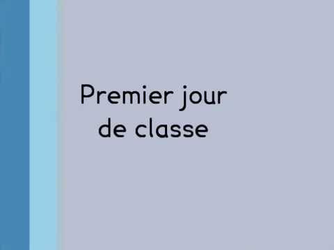 poesie 1er jour de classe