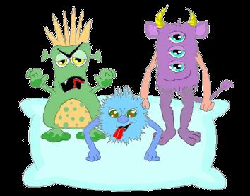 poesie 3 microbes