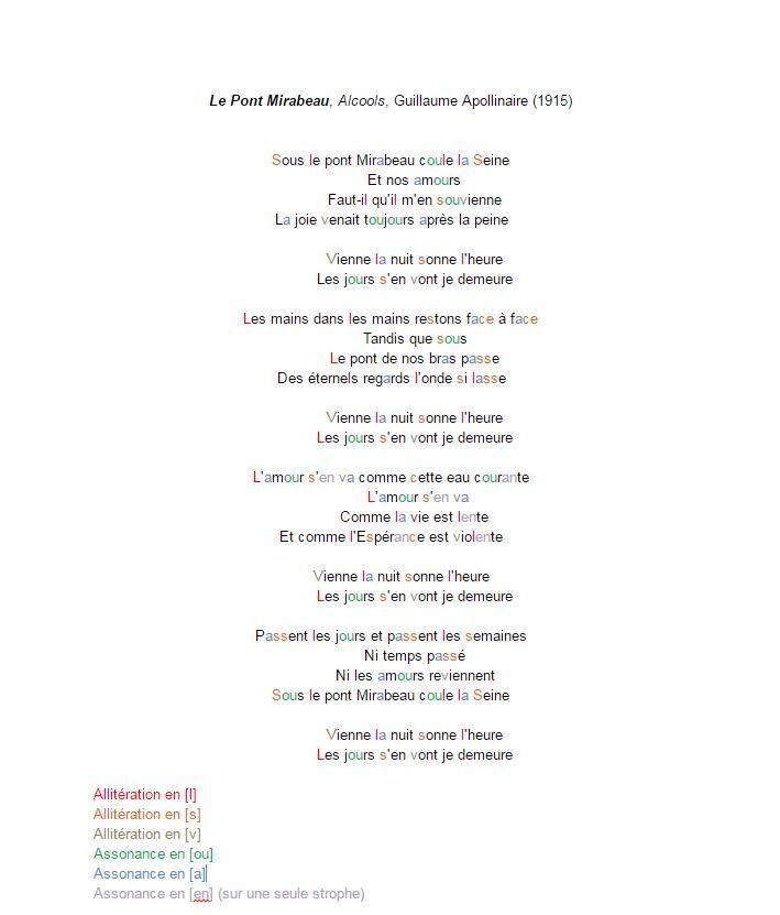 poesie 3eme brevet exercice