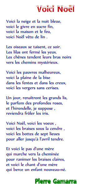 poesie 4e