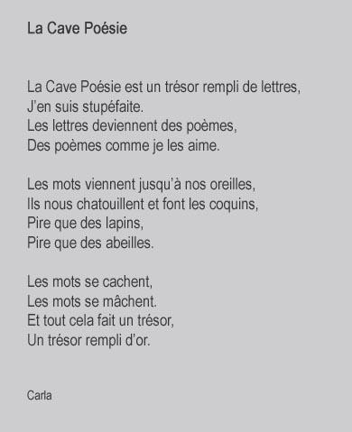 poesie 5 lettres