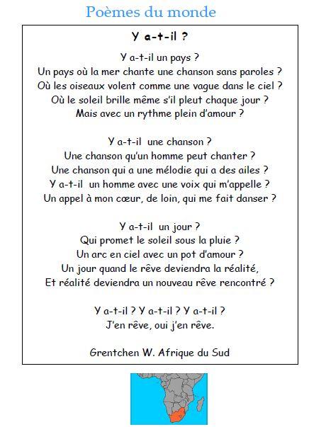 poesie afrique