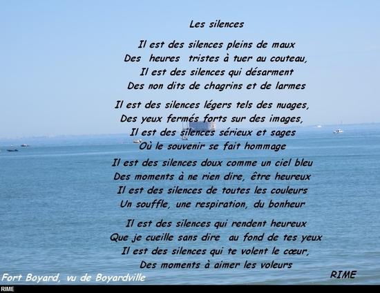 poesie avec rime