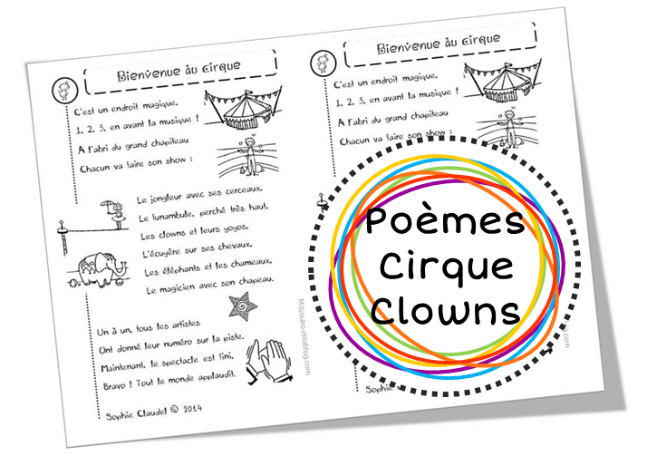 poesie bienvenue au cirque