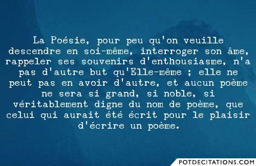 poesie but
