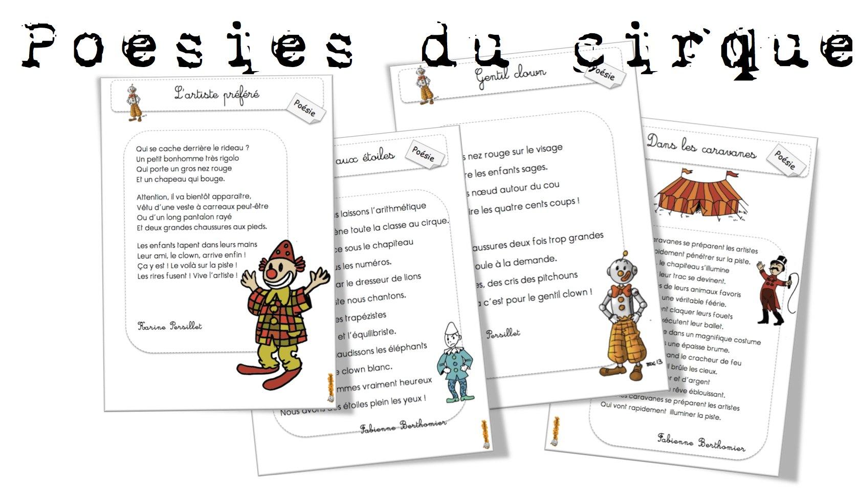 poesie cirque