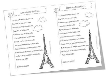 poesie dans paris