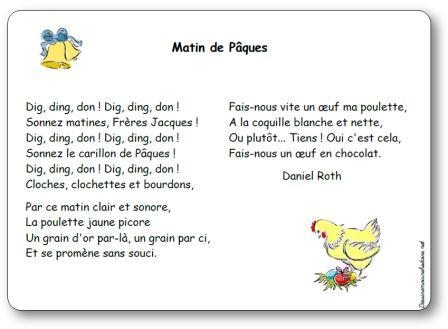poesie de paques