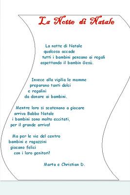 poesie e filastrocche di natale scuola primaria