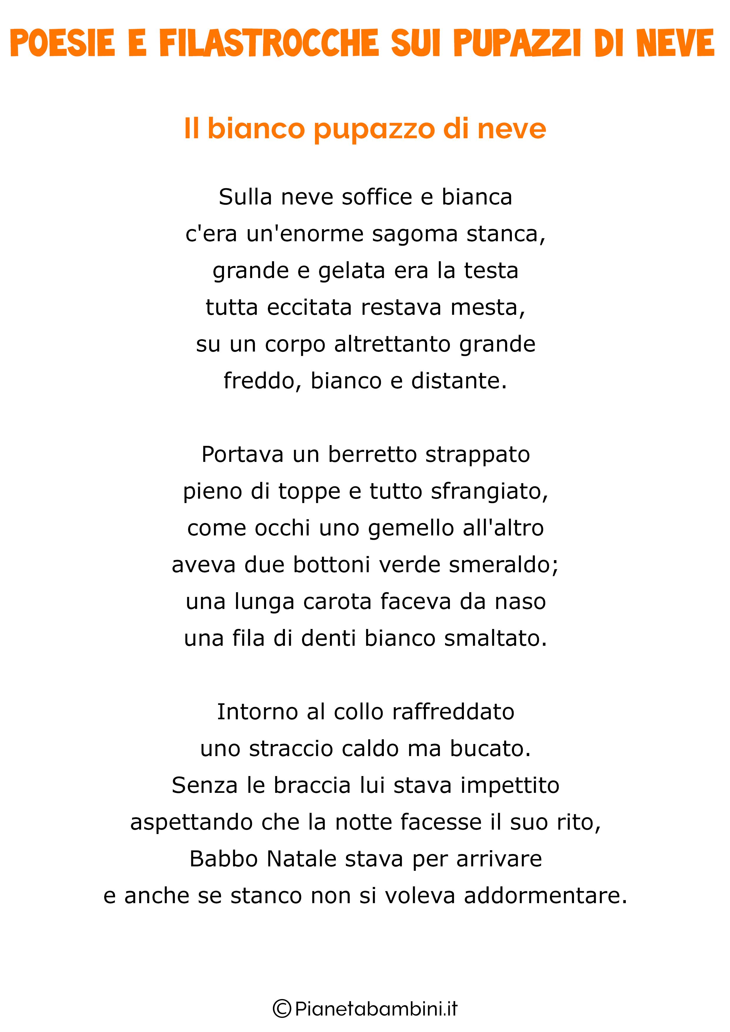 poesie e filastrocche