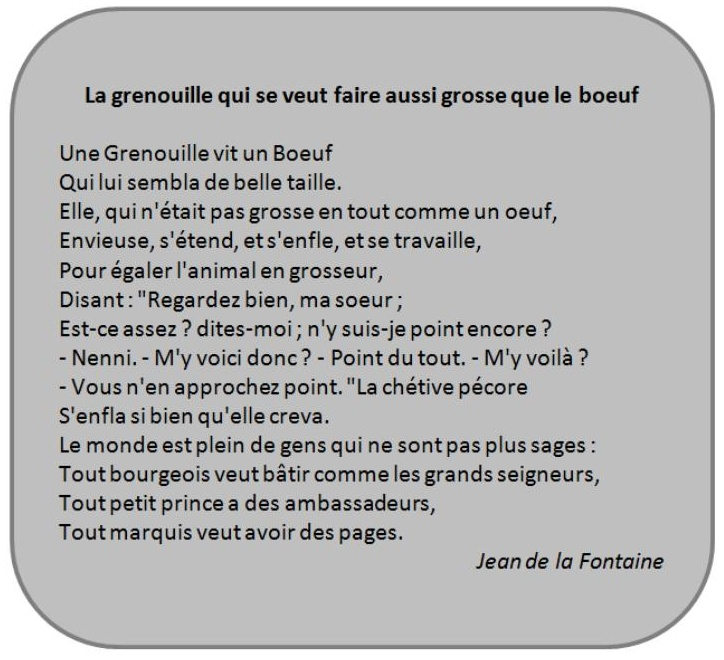 poesie fable