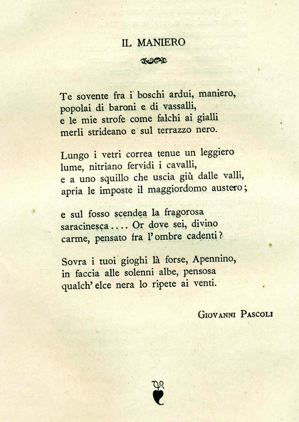 poesie g.pascoli