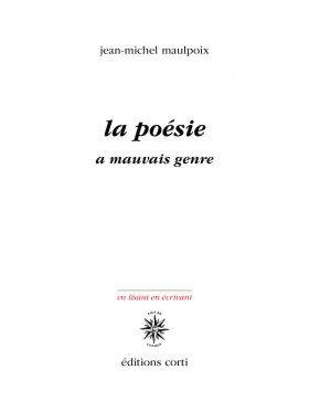poesie genre