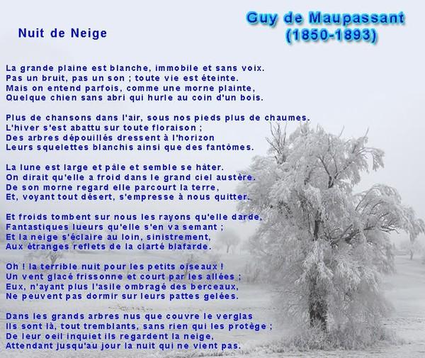 poesie guy de maupassant