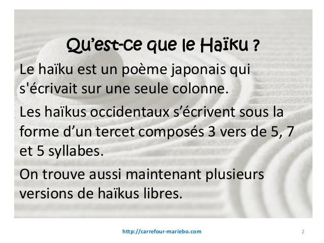 poesie haiku