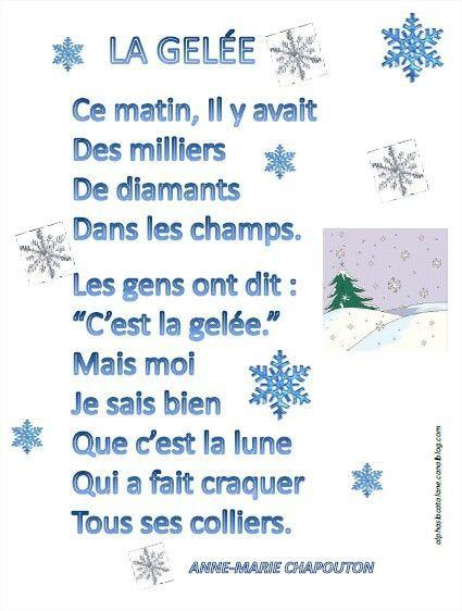 poesie hiver ce2