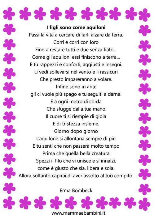 poesie i figli