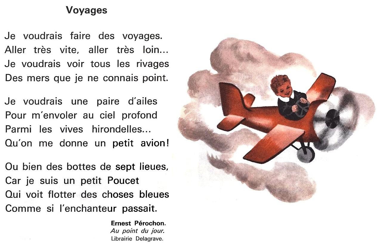 poesie je voyage