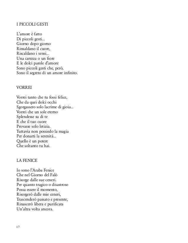 poesie l'amore e