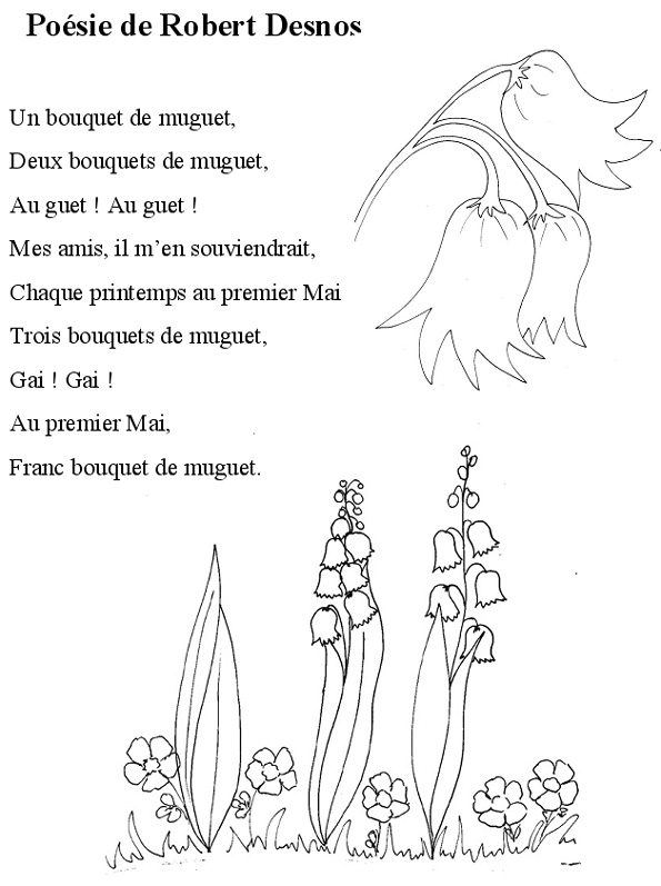 poesie le muguet