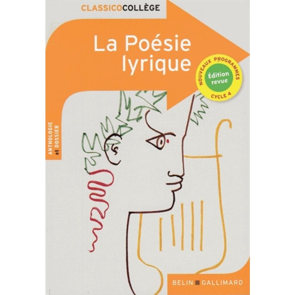 Dissertation poesie lyrique