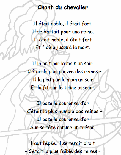 poesie moyen age cycle 3