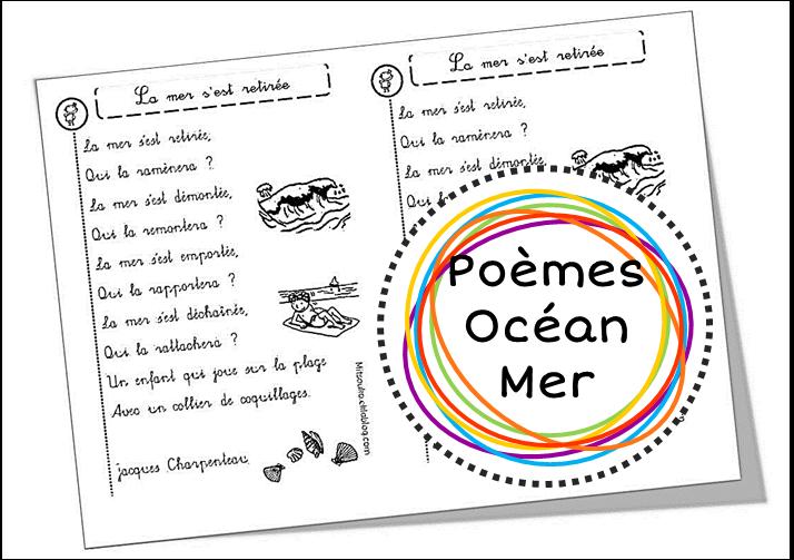 poesie ocean