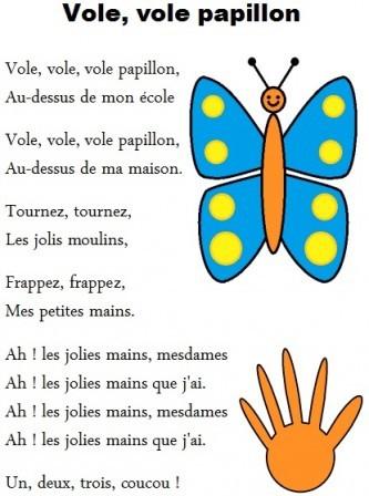 poesie papillon