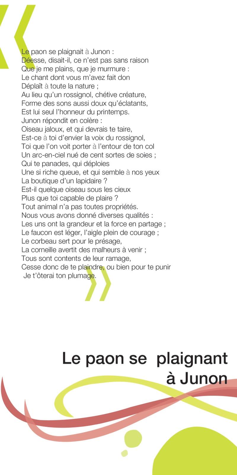 poesie paquerette