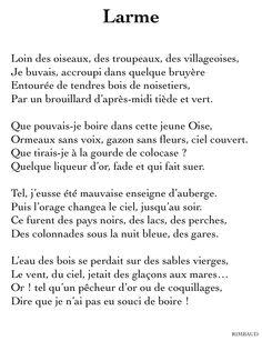poesie rimbaud