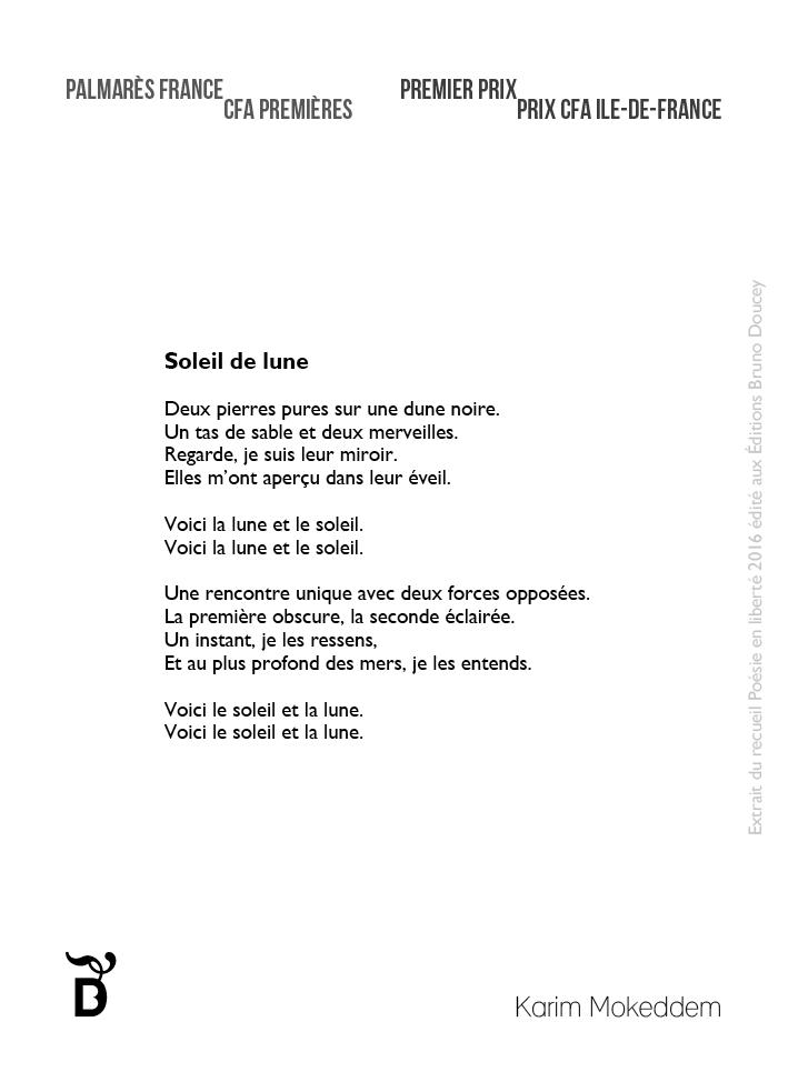 poesie soleil