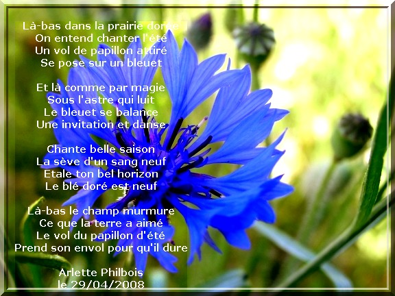 poesie sur la nature