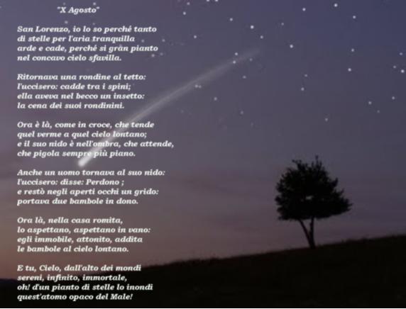poesie x agosto
