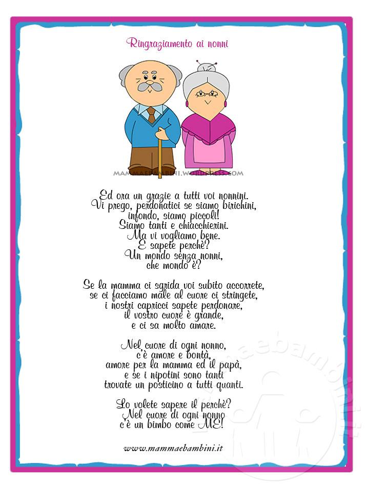 poesie x i nonni