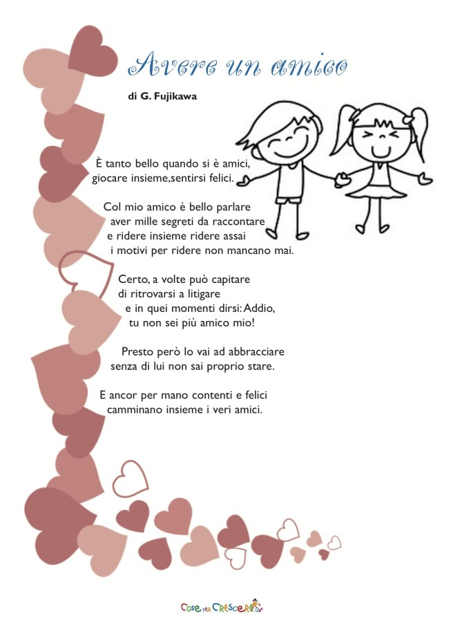 poesie x un amico